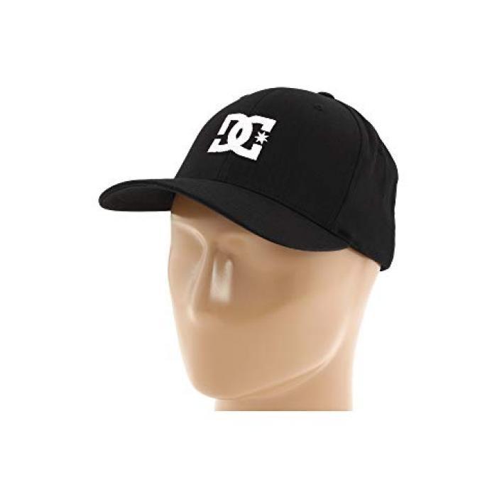ディーシー キャップ 帽子 スター 黒 ブラック メンズ 男性用 ブランド雑貨 【 DC BLACK CAP STAR 2 】