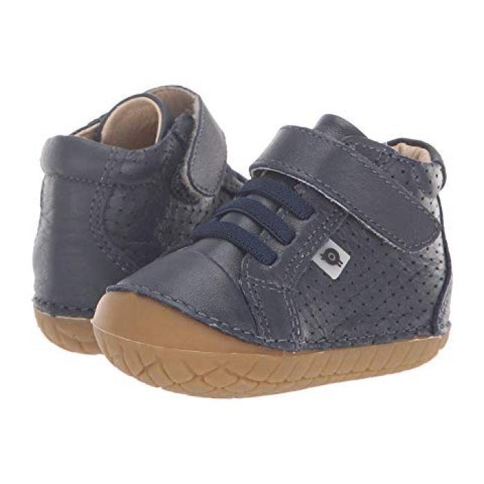 【エントリーで全商品ポイント10倍1/9 20:00-1/16 01:59迄】オールドベリー 紺 ネイビー ベビー 赤ちゃん用 ベビー靴 靴 【 NAVY OLD SOLES PAVE CHEER INFANT TODDLER 】