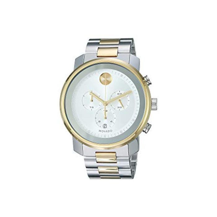 ツートーン ステンレス スティール メンズ 男性用 腕時計 メンズ腕時計 【 STEEL MOVADO BOLD 3600432 TWOTONE STAINLESS 】
