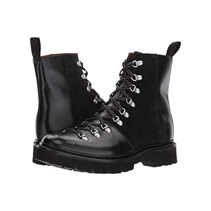 ブレイディ ブーツ 黒 ブラック メンズ 男性用 メンズ靴 【 BLACK GRENSON BRADY BOOT 】