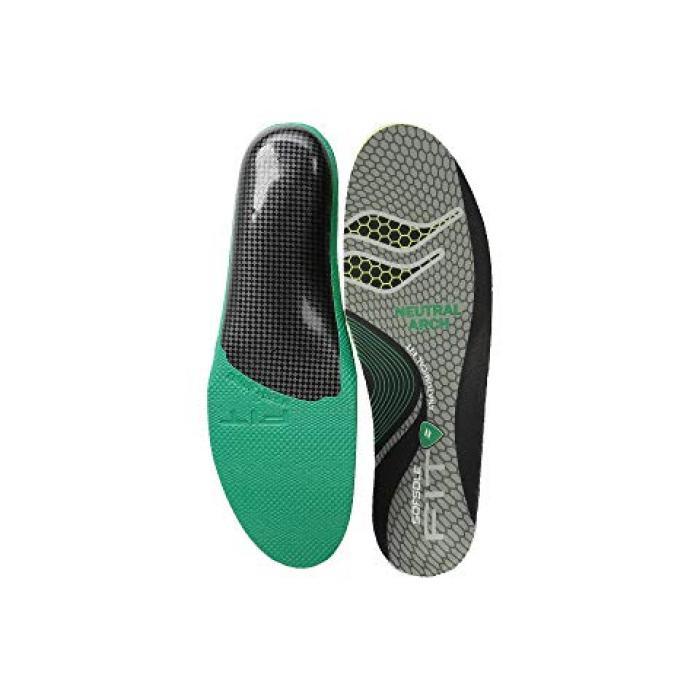 ソール フィット シリーズ ニュートラル アーチ メンズ 男性用 靴 インソール(中敷) 【 SOF SOLE FIT SERIES NEUTRAL ARCH INSOLE BLACK GREEN 】