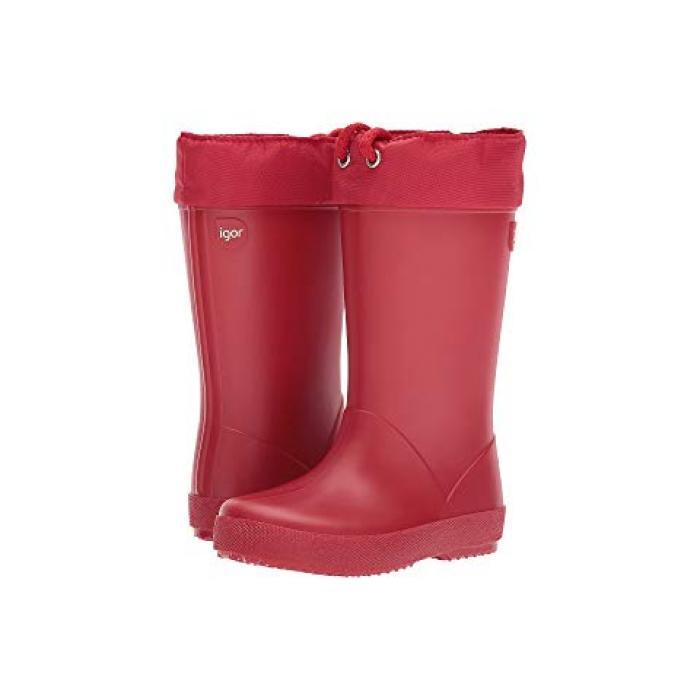 スプラッシュ コール 赤 レッド 子供用 ビッグキッズ 靴 ベビー 【 IGOR SPLASH COLE TODDLER RED 】