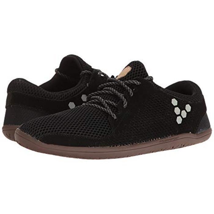 トリオ 黒 ブラック スエード スウェード メンズ 男性用 靴 【 BLACK VIVOBAREFOOT PRIMUS TRIO SUEDE 】