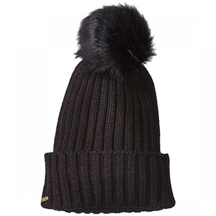 サン ディエゴ ハット カンパニー キャップ 帽子 黒 ブラック メンズ 男性用 バッグ ニット帽 【 BLACK SAN DIEGO HAT COMPANY KNH3476 BEANIE WITH POM 】