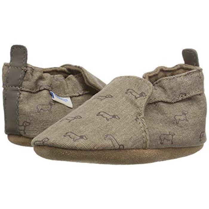 ラブ ソフト ソール 茶 ブラウン ベビー 赤ちゃん用 靴 キッズ 【 ROBEEZ PUPPY LOVE SOFT SOLE INFANT TODDLER BROWN 】
