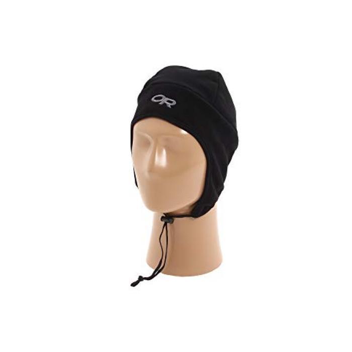 アウトドア ハット 黒 ブラック メンズ 男性用 小物 バッグ 【 BLACK OUTDOOR RESEARCH PERUVIAN HAT 】