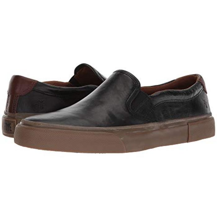 フライ スリッポン GRAY灰色 グレイ キャンバス メンズ 男性用 靴 【 SLIPON GREY FRYE LUDLOW CANVAS 】