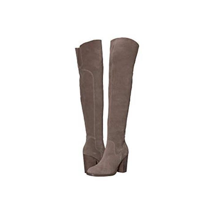 ブルックリン オーバー ニー ブーツ ウォーム GRAY灰色 グレイ レディース 女性用 レディース靴 【 GREY KELSI DAGGER BROOKLYN LOGAN OVER THE KNEE BOOT WARM 】
