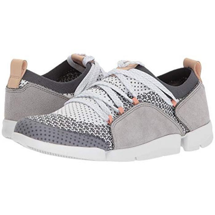 クラークス トライ アメリア GRAY灰色 グレイ コンビネーション メンズ 男性用 靴 【 GREY CLARKS TRI AMELIA COMBINATION 】