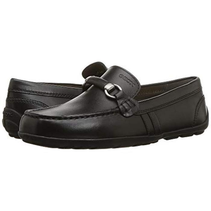 【エントリーで全商品ポイント10倍1/9 20:00-1/16 01:59迄】ファスト 黒 ブラック オックスフォード 子供用 ビッグキッズ ベビー 靴 【 BLACK GEOX KIDS FAST 3 OXFORD 】