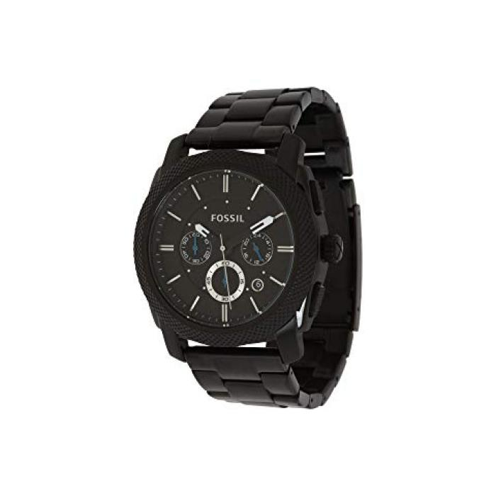 フォッシル マシーン 黒 ブラック ステンレス メンズ 男性用 メンズ腕時計 腕時計 【 BLACK FOSSIL MACHINE FS4552 STAINLESS STEEL 】