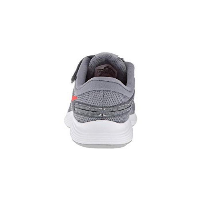 c0ea2460c10e ...  ナイキレボリューションワイドクール子供用ビッグキッズキッズ靴 NIKEKIDSREVOLUTION4FLYEASEWIDECOOLGREYHABANEROREDWOLFWHITE