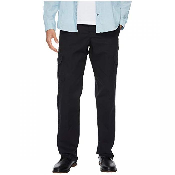 ディッキーズ ツイル カーゴ パンツ 黒 ブラック メンズ 男性用 メンズファッション 【 BLACK DICKIES FLEX TWILL CARGO PANTS 】