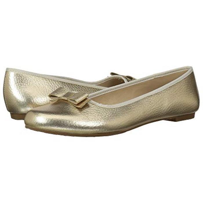 【エントリーで全商品ポイント10倍1/9 20:00-1/16 01:59迄】カミーユ フラッツ ゴールド 金 子供用 ビッグキッズ 靴 ベビー 【 ELEPHANTITO CAMILLE FLATS TODDLER GOLD 】