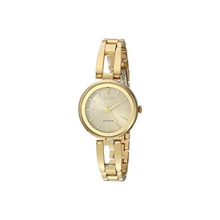 ウォッチ 時計 ゴールド 金 トーン レディース 女性用 レディース腕時計 腕時計 【 CITIZEN WATCHES EM063850P ECODRIVE GOLD TONE 】