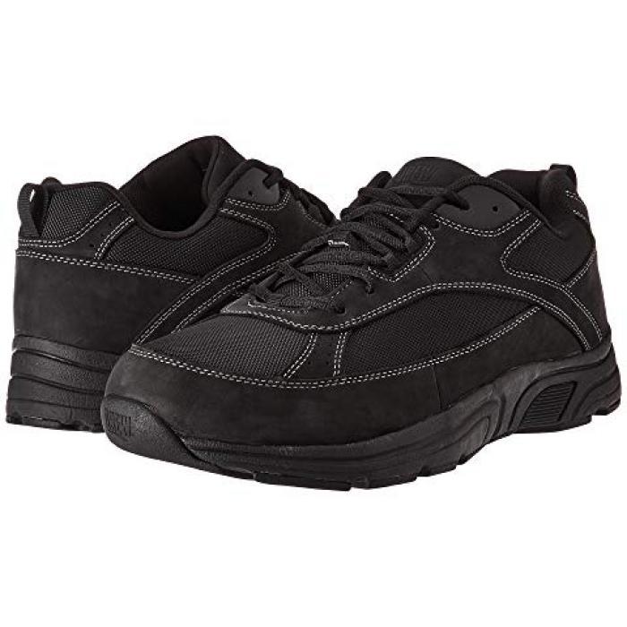 アーロン 黒 ブラック メンズ 男性用 メンズ靴 【 BLACK DREW AARON LEATHER NYLON 】