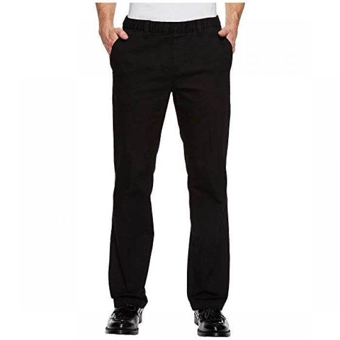 黒 ブラック エラスティック ウェスト ドレス ワンピース パンツ NBZ メンズ 男性用 ズボン 【 BLACK ELASTIC WAIST DRESS PANTS 】