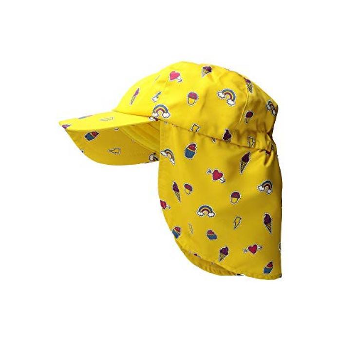 【エントリーで全商品ポイント10倍1/9 20:00-1/16 01:59迄】サン ディエゴ ハット カンパニー オール オーバー プリント キャップ 帽子 ネック カバー 黄色 イエロー 子供用 ビッグキッズ キッズ 【 YELLOW SAN DIEGO HAT COMPANY KIDS ALL OVER PRINT CAP W NECK COVER 】