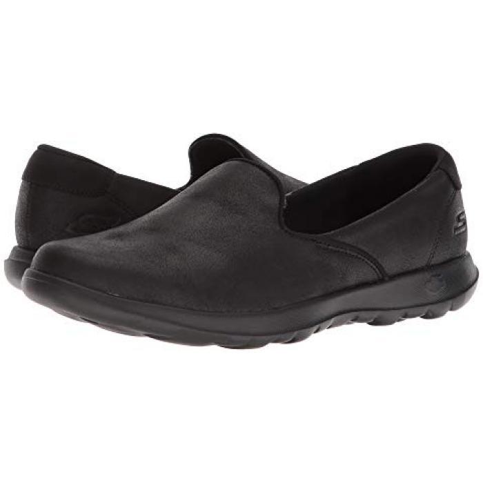 スケッチャーズ パフォーマンス ゴー ステップ ライト 黒 ブラック メンズ 男性用 靴 【 BLACK SKECHERS PERFORMANCE GO STEP LITE QUEENLY 】