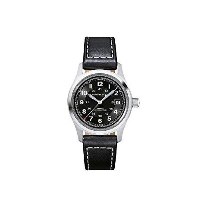 ハミルトン カーキ フィールド 黒 ブラック レディース 女性用 腕時計 レディース腕時計 【 FIELD BLACK HAMILTON KHAKI H70455733 】