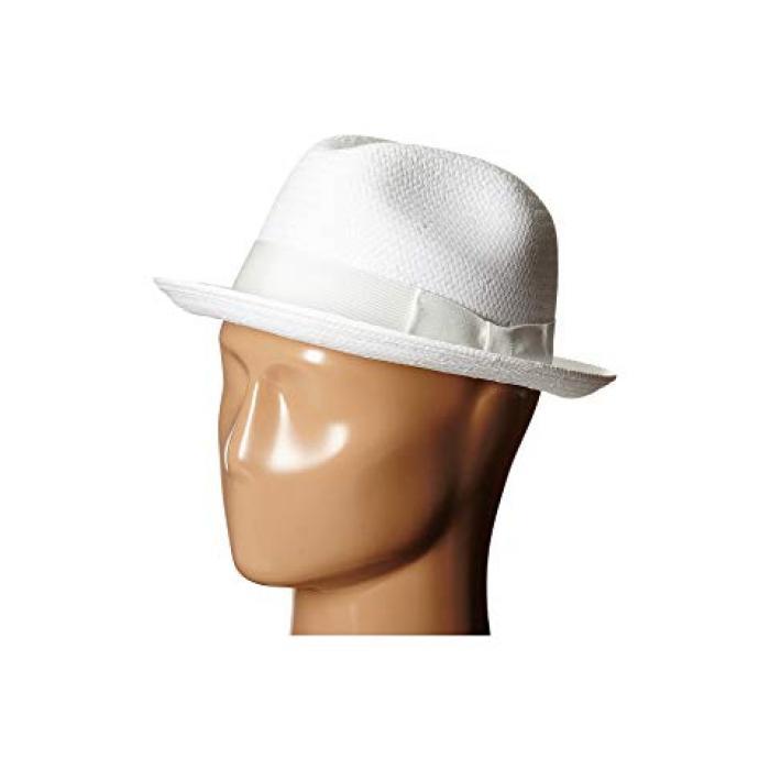 ベイリー ハリウッド 白 ホワイト メンズ 男性用 バッグ 帽子 【 BAILEY OF HOLLYWOOD LANDO WHITE 】