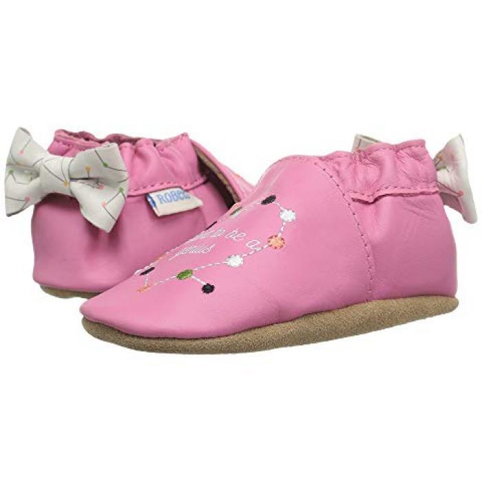 【エントリーで全商品ポイント10倍1/9 20:00-1/16 01:59迄】欲しいです ジーニアス ソフト ソール アザリー ベビー 赤ちゃん用 ベビー服 ベビー靴 【 ROBEEZ I WANT TO BE A GENIUS SOFT SOLE INFANT TODDLER AZALEA 】