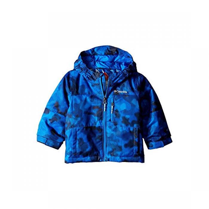 【エントリーで全商品ポイント10倍1/9 20:00-1/16 01:59迄】コロンビア マジック マイル ジャケット スーパー 青 ブルー カモ ライン ベビー 赤ちゃん用 コート マタニティ 【 BLUE COLUMBIA KIDS MAGIC MILE JACKET TODDLER SUPER CAMO LINES 】