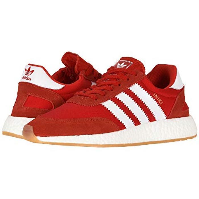 アディダス ランナー メンズ 男性用 メンズ靴 靴 【 ADIDAS INIKI RUNNER RED FTWWHT GUM3 】