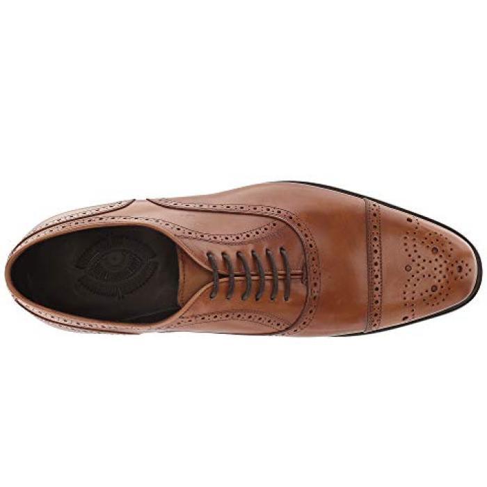 カルロス サンタナ タン フル グレイン ボックス カーフ メンズ 男性用 靴 メンズ靴 【 CARLOS BY SANTANA DISTRICT TAN FULL GRAIN BOX CALF 】