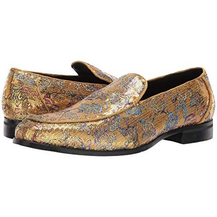 アダムス ゴールド 金 マルチ メンズ 男性用 メンズ靴 靴 【 STACY ADAMS STRUT GOLD MULTI 】