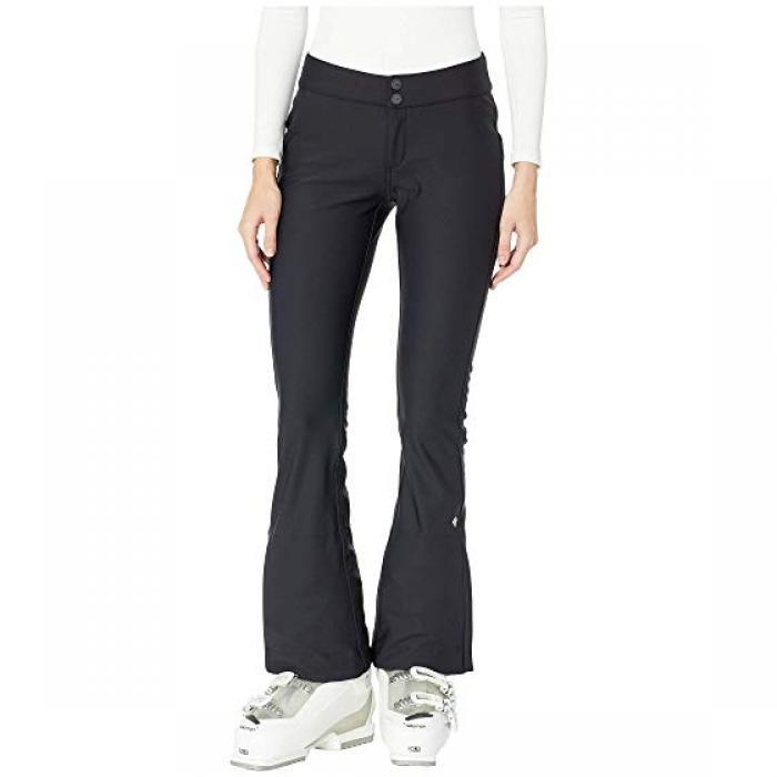 ボンド パンツ 黒 ブラック レディース 女性用 レディースファッション 【 BLACK OBERMEYER THE BOND PANTS 】