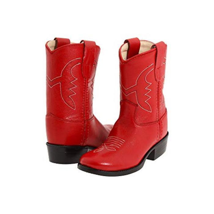 【エントリーで全商品ポイント10倍1/9 20:00-1/16 01:59迄】オールドベリー ウェスト ブーツ ウェスタン 赤 レッド ベビー 赤ちゃん用 ファッション 靴 【 OLD WEST KIDS BOOTS WESTERN BOOT TODDLER RED 】
