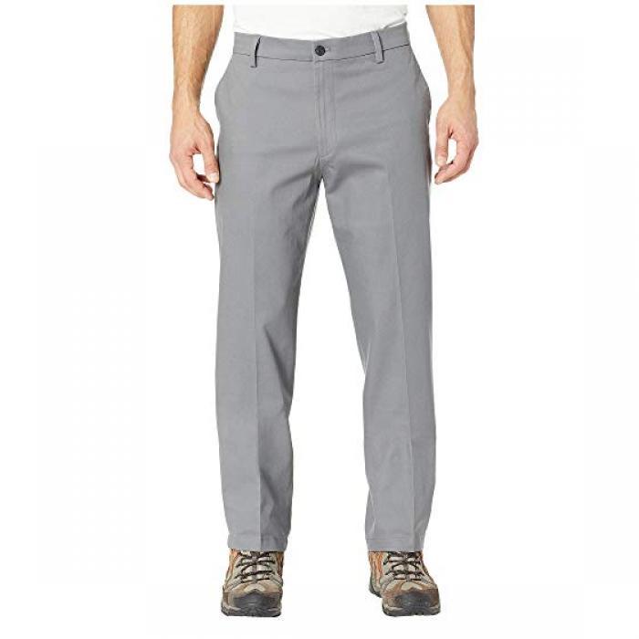 クラシック フィット シグネイチャー カーキ ルクス コットン ストレッチ パンツ GRAY灰色 グレイ メンズ 男性用 ズボン メンズファッション 【 GREY DOCKERS CLASSIC FIT SIGNATURE KHAKI LUX COTTON STRETCH PA