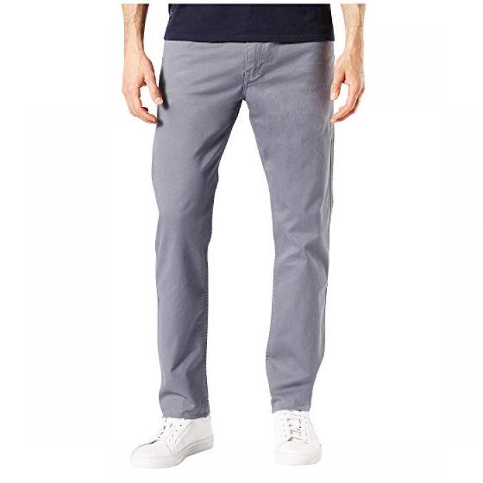 スリム フィット ジーン カット ストレッチ パンツ GRAY灰色 グレイ 2.0 メンズ 男性用 メンズファッション 【 SLIM GREY DOCKERS FIT JEAN CUT STRETCH PANTS BURMA 】