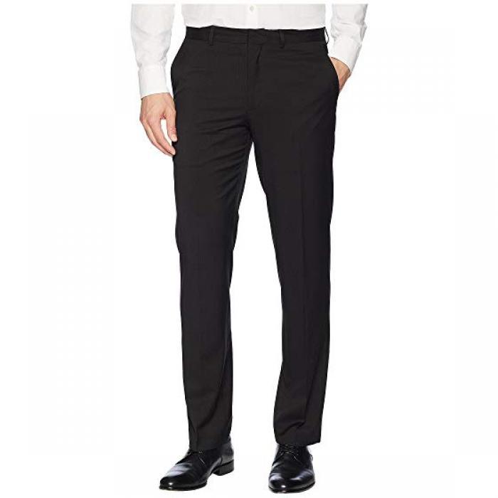 クラシック フィット スーツ セパレート ドレス ワンピース パンツ 黒 ブラック メンズ 男性用 ズボン メンズファッション 【 BLACK DOCKERS CLASSIC FIT SUIT SEPARATE DRESS PANTS 】