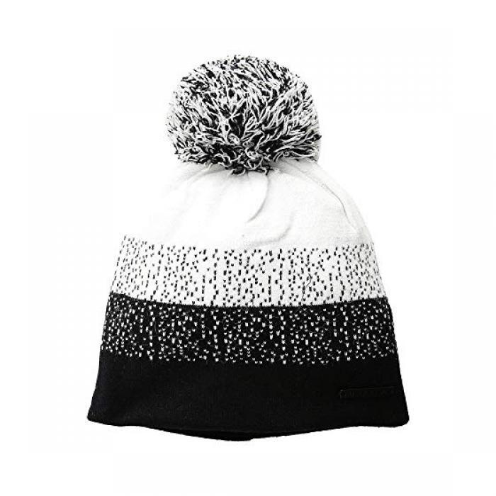 ドット キャップ 帽子 黒 ブラック レディース 女性用 ブランド雑貨 レディース帽子 【 BLACK BULA DOT BEANIE 】