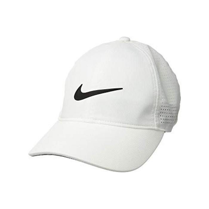 ナイキ キャップ 帽子 レディース 女性用 【 NIKE AEROBILL L91 CAP PERF WHITE ANTHRACITE BLACK 】