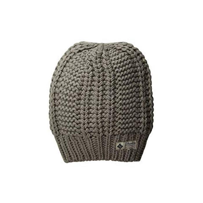 コロンビア キャップ 帽子 GRAY灰色 グレイ HAVEN レディース 女性用 ニット帽 【 GREY COLUMBIA HIDEAWAY SLOUCHY BEANIE FLINT 】