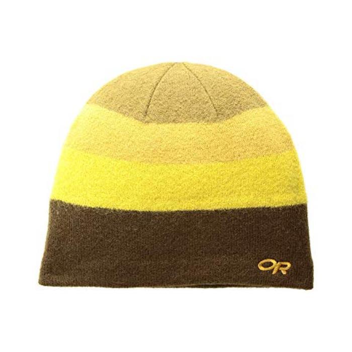 アウトドア キャップ 帽子 レディース 女性用 レディース帽子 ニット帽 【 OUTDOOR RESEARCH GRADIENT BEANIE CAROB HONEY 】