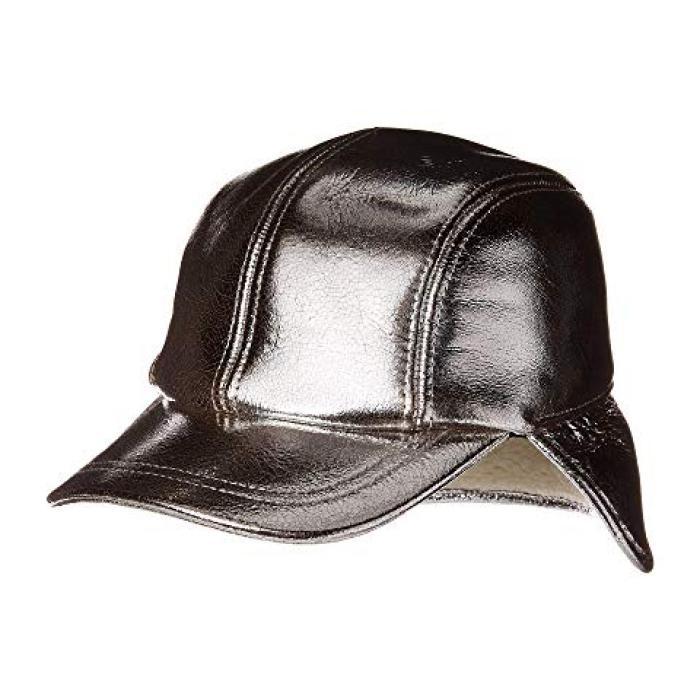 ボーン パイロット キャップ 帽子 銀色 シルバー & レディース 女性用 レディース帽子 【 RAG BONE PILOT CAP SILVER 】