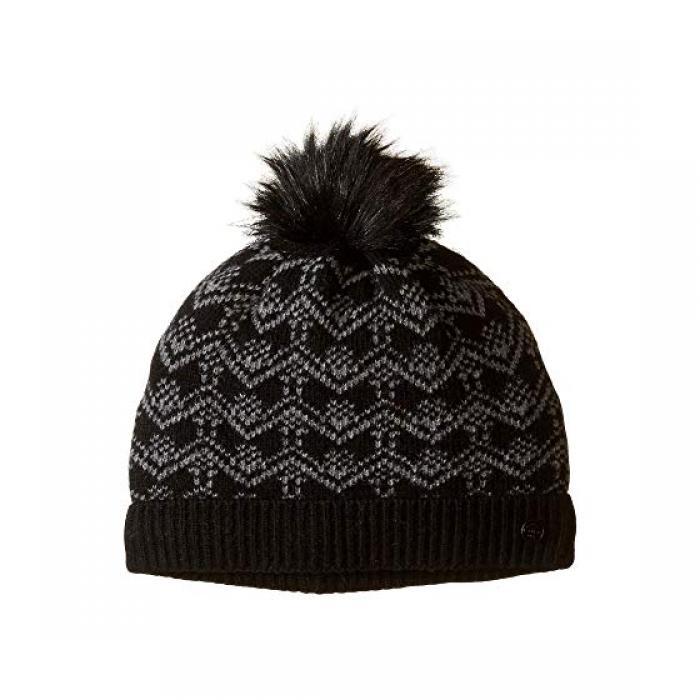 レース キャップ 帽子 黒 ブラック レディース 女性用 バッグ レディース帽子 【 BLACK BULA LACE BEANIE 】