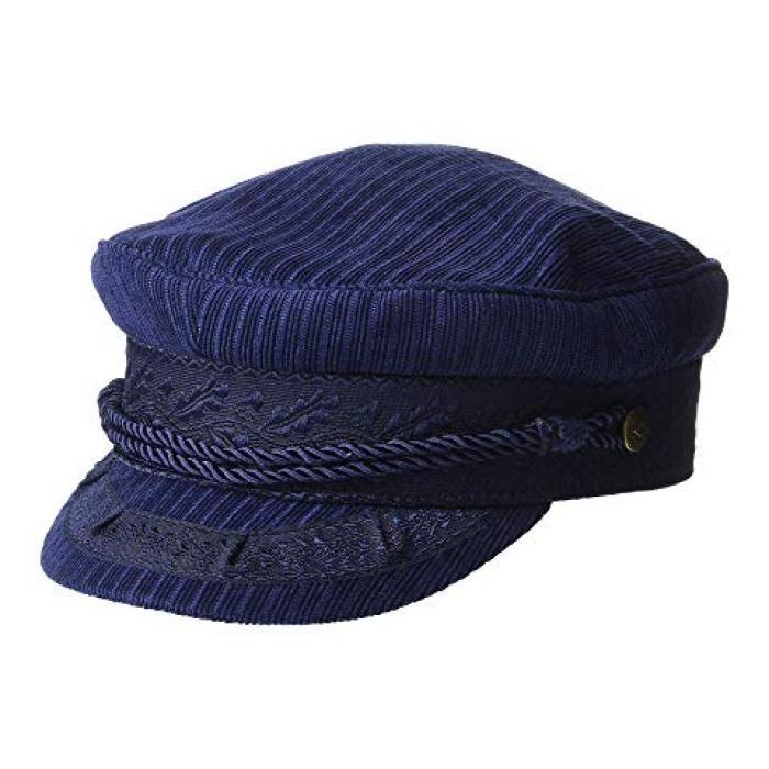 ブリクトン キャップ 帽子 パトリオット 青 ブルー レディース 女性用 小物 【 BLUE BRIXTON ALBANY CAP PATRIOT 】