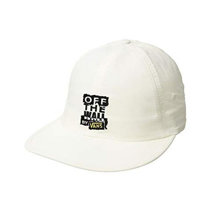 バンズ キャップ 帽子 白 ホワイト OTW レディース 女性用 バッグ 【 VANS RIPPED JOCKEY CAP WHITE 】