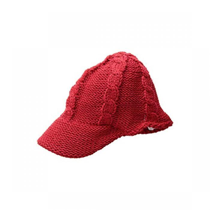 サン ディエゴ ハット カンパニー ケーブル ニット キャップ 帽子 赤 レッド レディース 女性用 バッグ 【 SAN DIEGO HAT COMPANY KNH3606 CABLE KNIT CAP RED 】