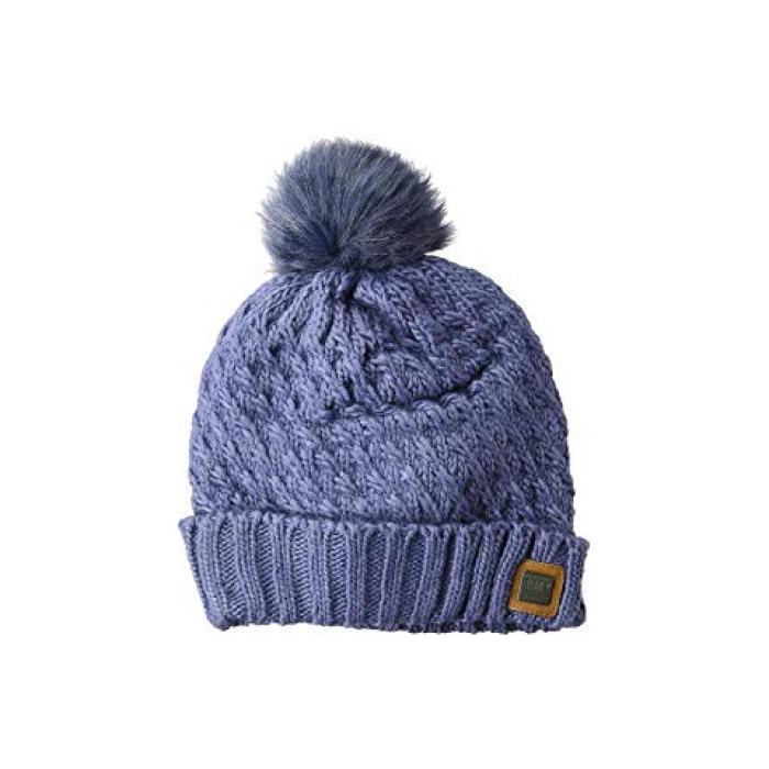 ロキシー ブリザード キャップ 帽子 クラウン 青 ブルー レディース 女性用 ニット帽 レディース帽子 【 ROXY BLUE BLIZZARD BEANIE CROWN 】