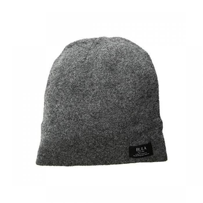 フォール キャップ 帽子 ヘザー GRAY灰色 グレイ レディース 女性用 小物 ニット帽 【 HEATHER GREY BULA FALL BEANIE 】