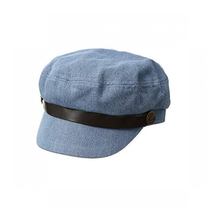 サン ディエゴ ハット カンパニー デニム キャップ 帽子 レディース 女性用 【 SAN DIEGO HAT COMPANY CTH4173 FISHERMANS DENIM CAP 】
