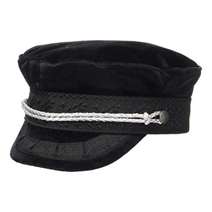 ブリクトン キャップ 帽子 レディース 女性用 小物 【 BRIXTON ALBANY CAP BLACK SILVER 】
