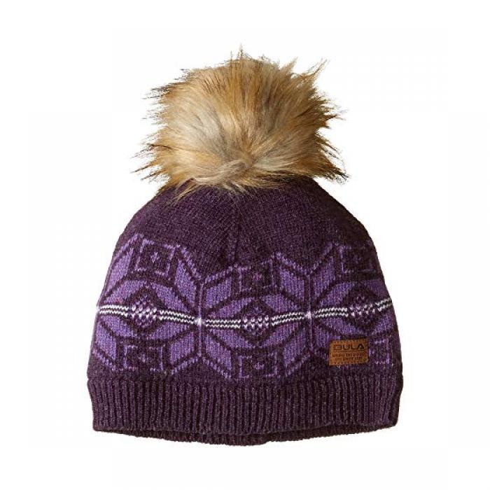 ビクトリア キャップ 帽子 ブルーベリー レディース 女性用 小物 レディース帽子 【 BULA VICTORIA BEANIE BLUEBERRY 】