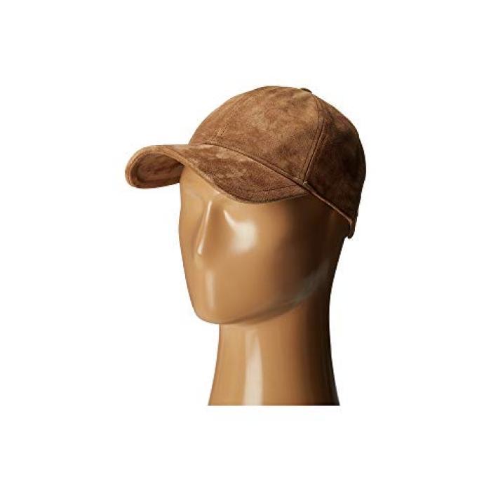 ボーン マリリン ベースボール キャップ 帽子 キャメル スエード スウェード & レディース 女性用 ブランド雑貨 【 CAMEL RAG BONE MARILYN BASEBALL CAP SUEDE 】
